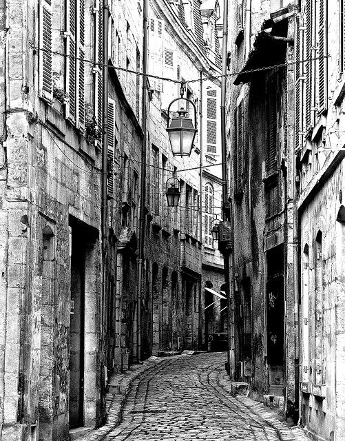 A street in the old part of town, Perigueux, France