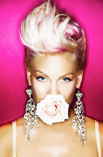 Pink Love Her Hair Pink Singer Hair Photo Pompadour Hairstyle
