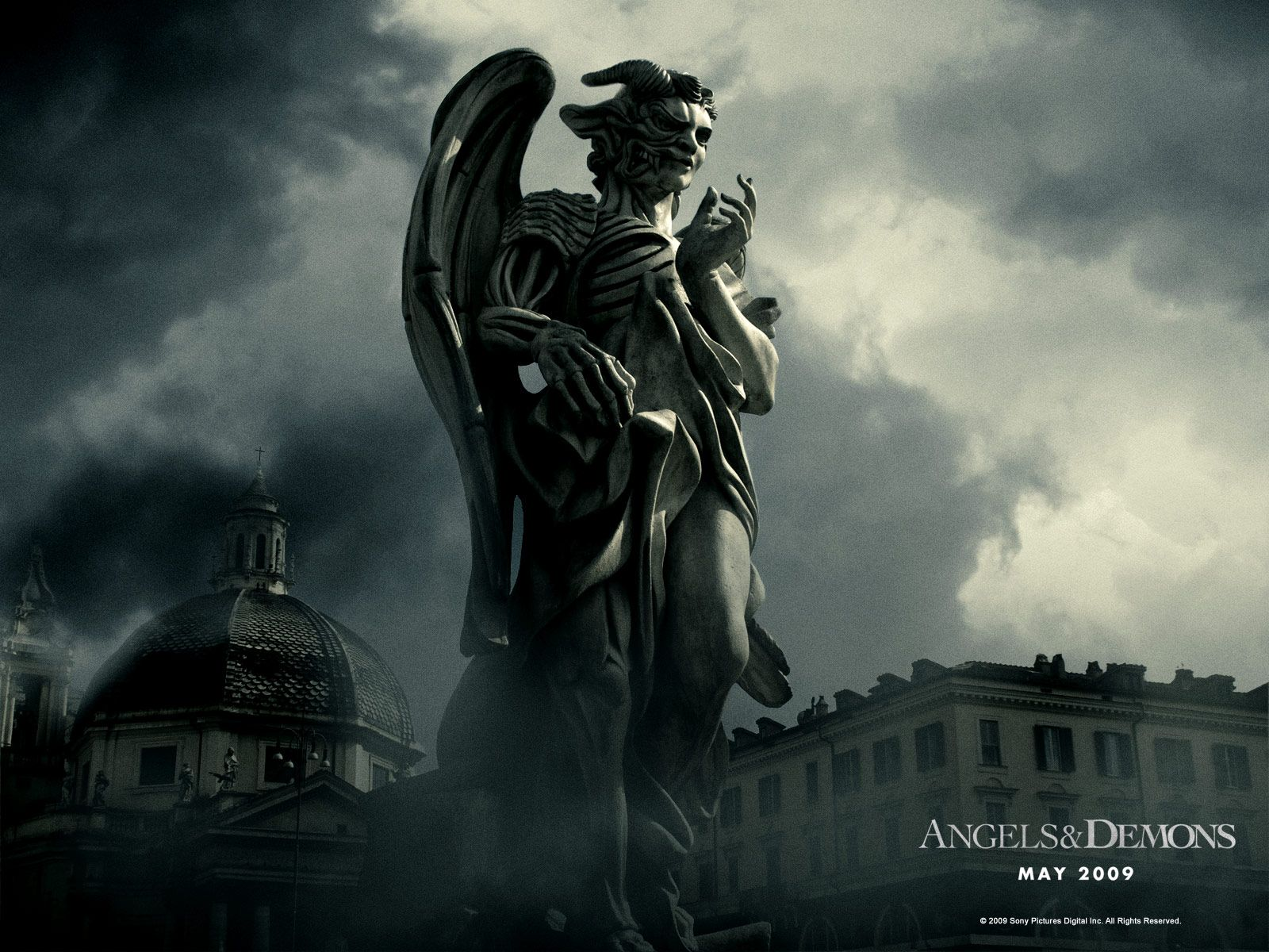 Angel And Demon Wallpaper Angels And Demons Angels And Demons Movie Movie Wallpapers