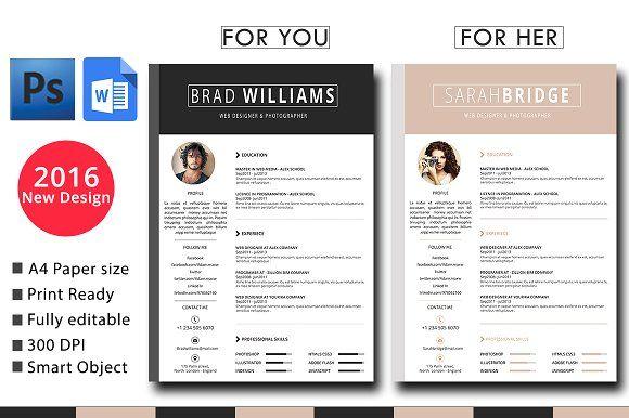 Resume Pinterest Template, Cv template and Resume cv - cv vs resume