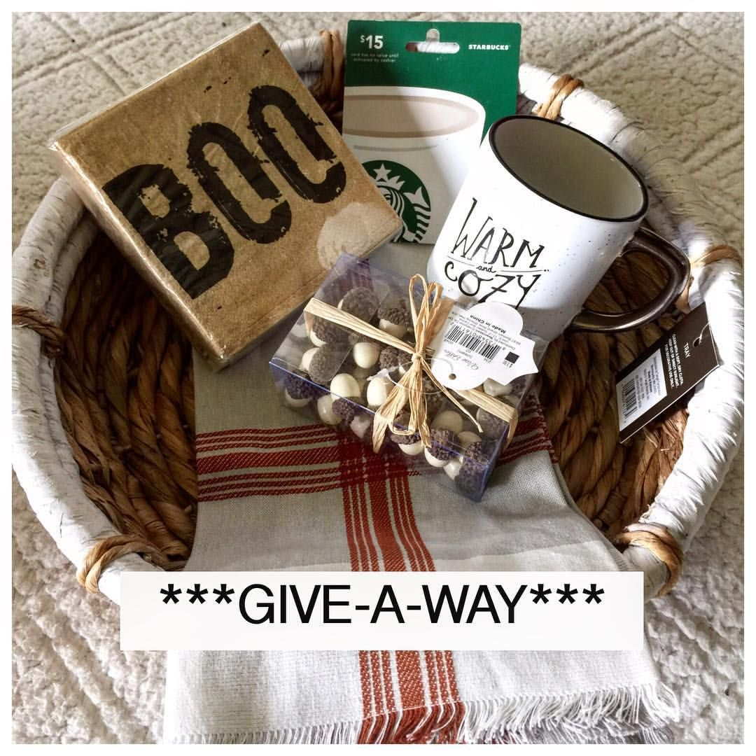 "Angela Betlewicz on Instagram: ""I'm so thankful for all you insta-buddies that I've got to connect with. I put together a small #basket of THANKS! I was handed $60 unexpected dollars and I want to return that favor to you! #giveaway"