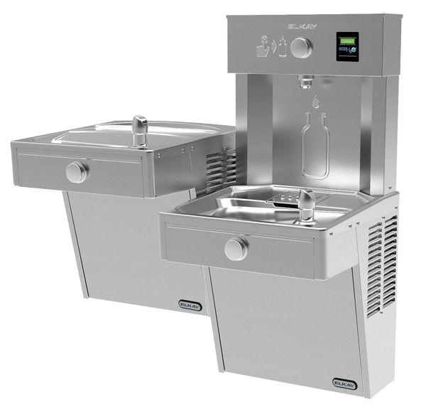 Elkay VRC8WSK ezH2O Vandal Resistant Water Cooler with