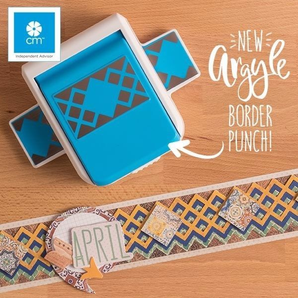 Creative Memories Punch Mountain Border Punch while supplies last