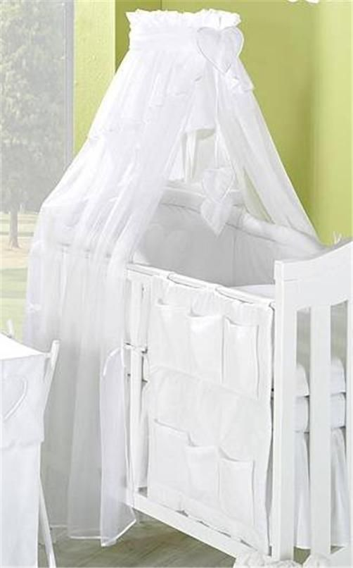 LUXURIOUS CANOPY  DRAPE ONLY  to fit Baby  Cot or Cot Bed 320cm