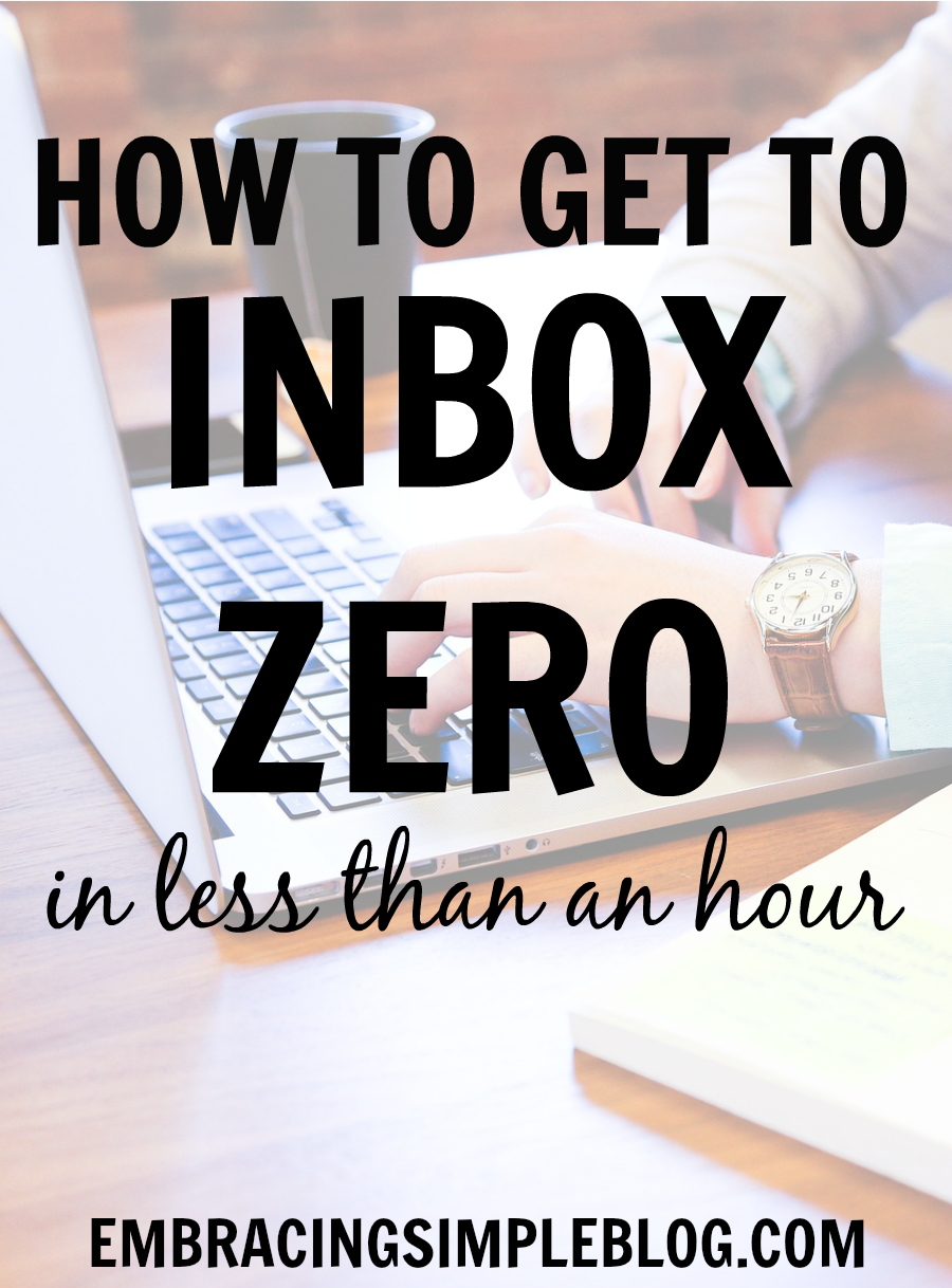 How to Get to Inbox Zero in Less Than an Hour | How to get, From ...