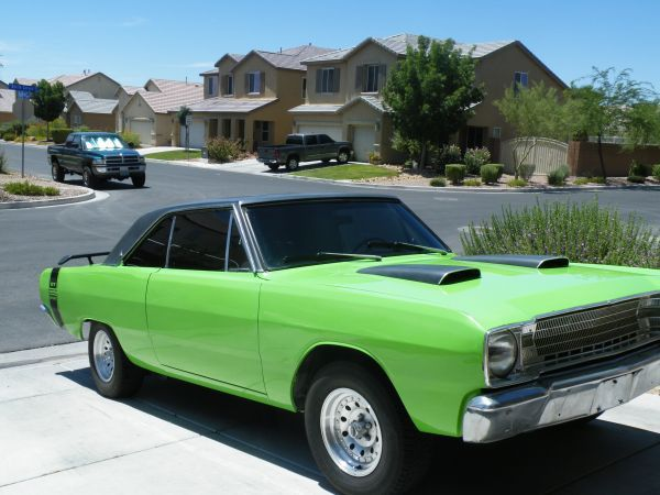67 Dodge Dart Gt I Could Do Without The Tinted Windows But Still A