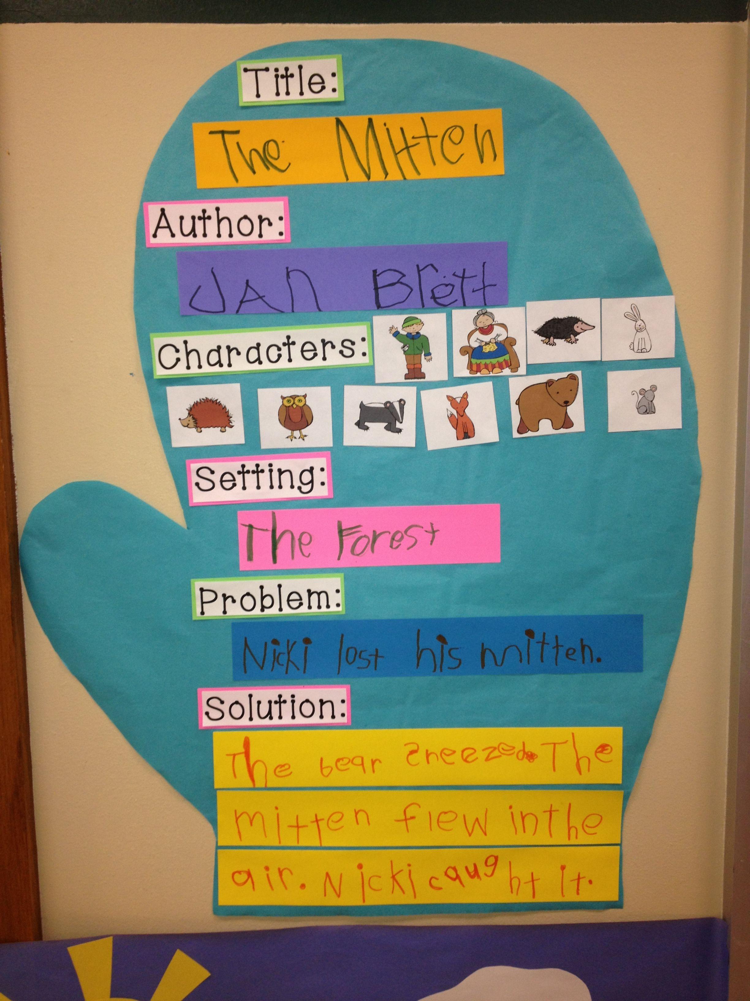 The mitten story map january pinterest mittens kindergarten language arts pooptronica