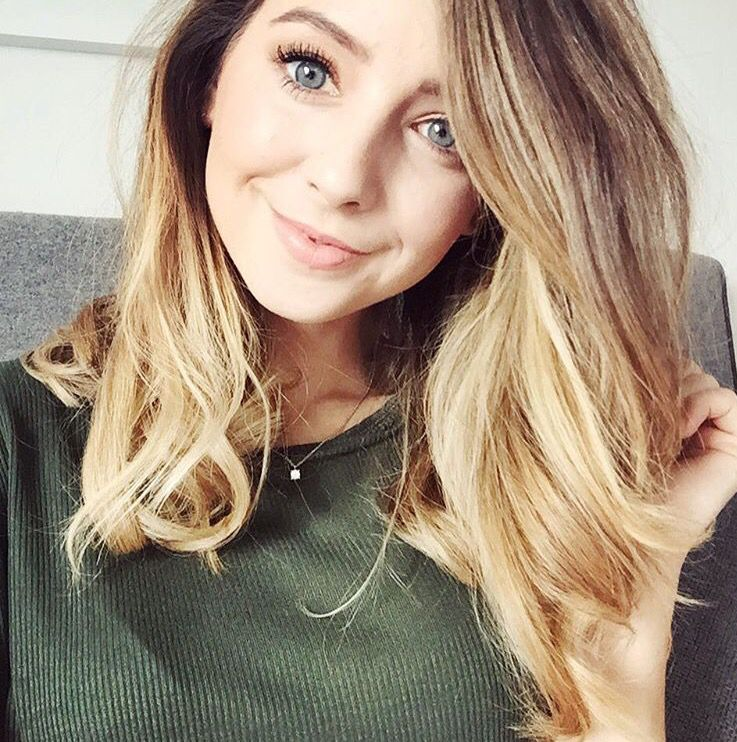 Zoella haircolor