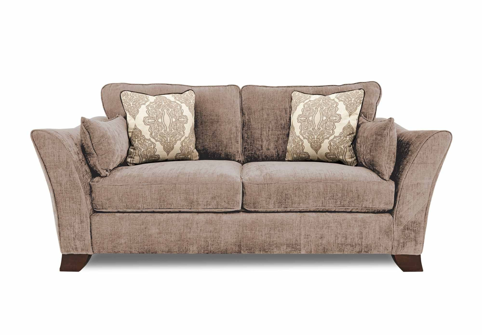 3 Seater Clic Back Sofa Annalise Upholstered Furniture At Village Gorgeous Living Room From