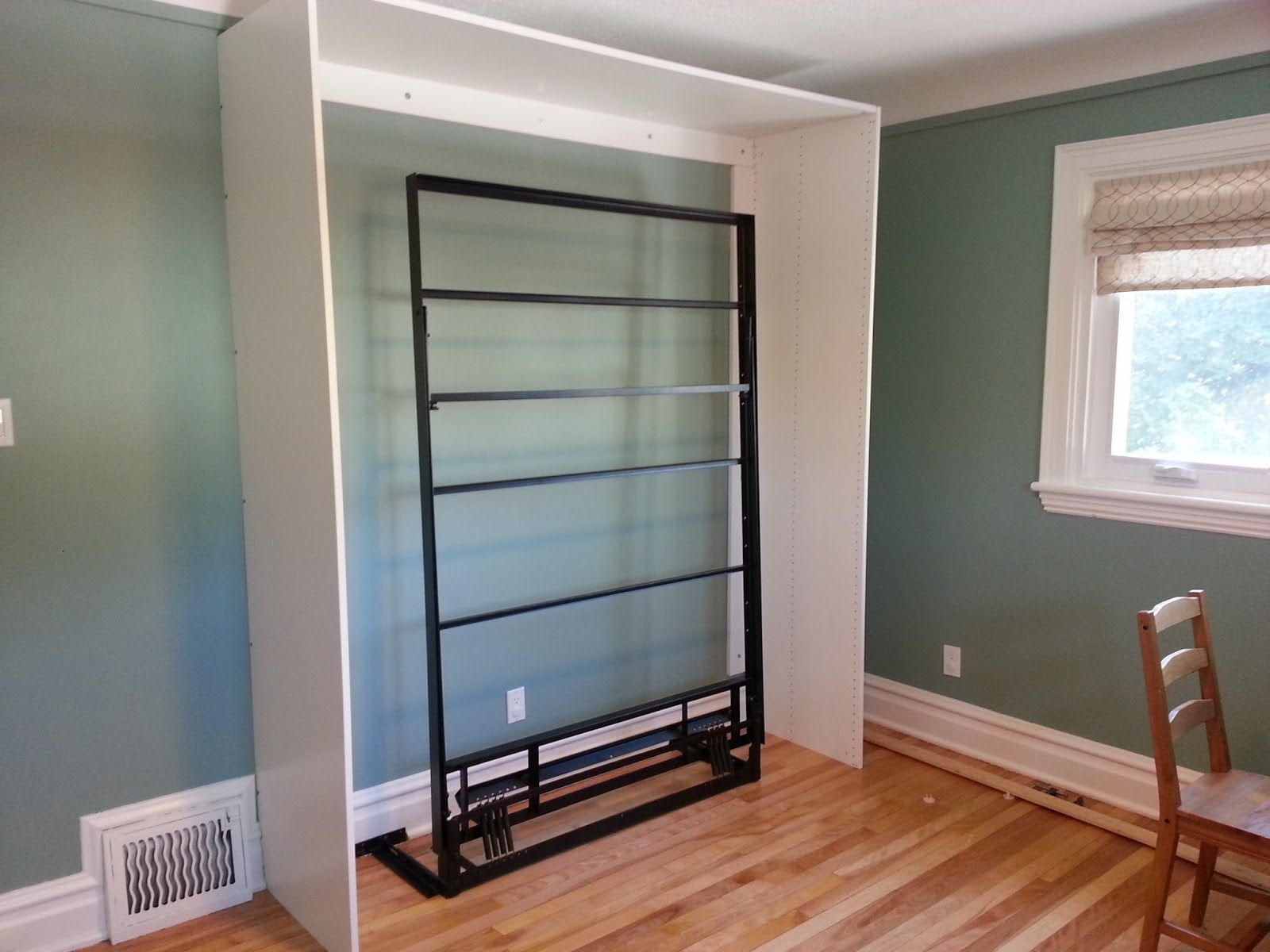 renovations and old houses diy ikea murphy bed