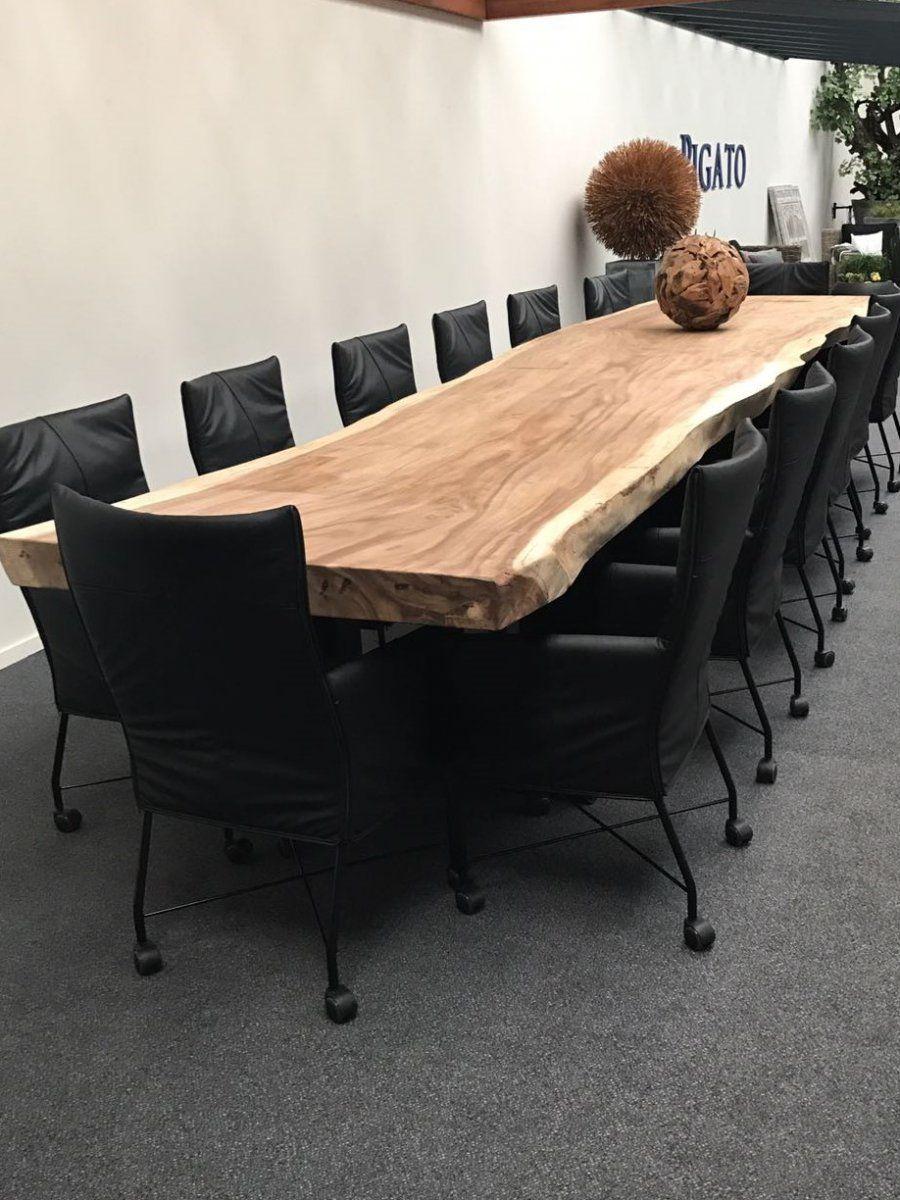 Houten Eettafel Boomstam.Grote Houten Tafel Wonen In 2019 Boomstam Tafel