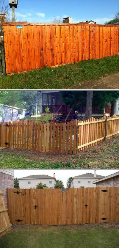 This residential fence company offers all types of fence services