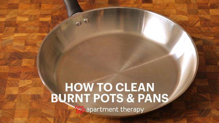 How To Clean Burnt Pots Scorched Pans Clean Burnt Pots Clean