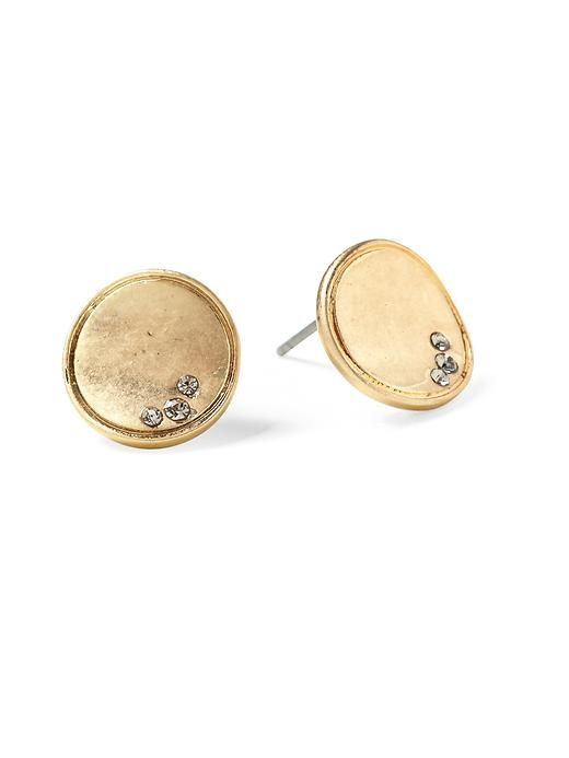 Beach Gold Stud Earrings Kenneth Cole