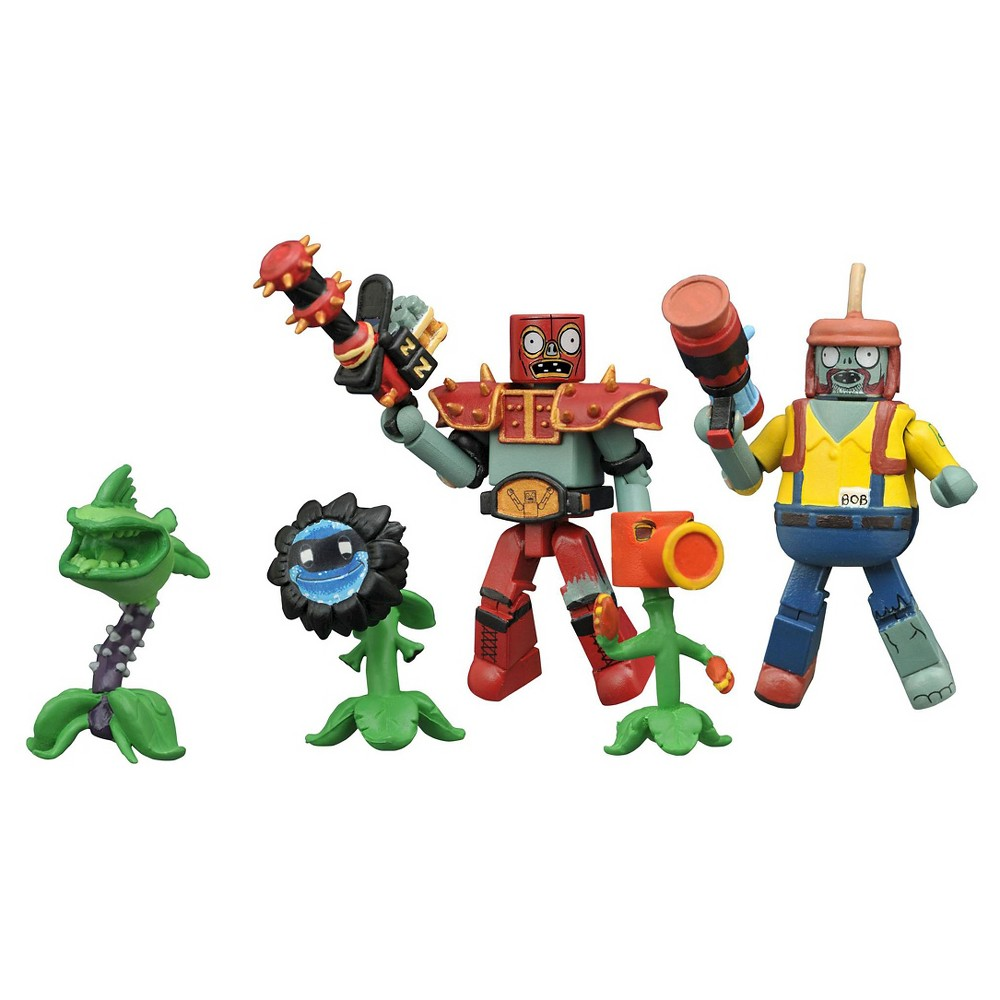 Diamond Select Toys Plants vs. Zombie Garden Warfare Minimates Series 2 Box Set