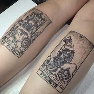 These Tarot cards. | 21 Tattoos That Will Inspire Your Witchy Side