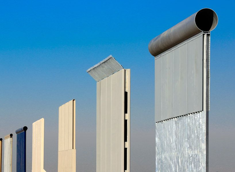 President Tump The Artist Christoph Buchel Petitions For Border Wall Prototypes To Become Public Monument Land Art Trump Wall Us Mexico Border Wall