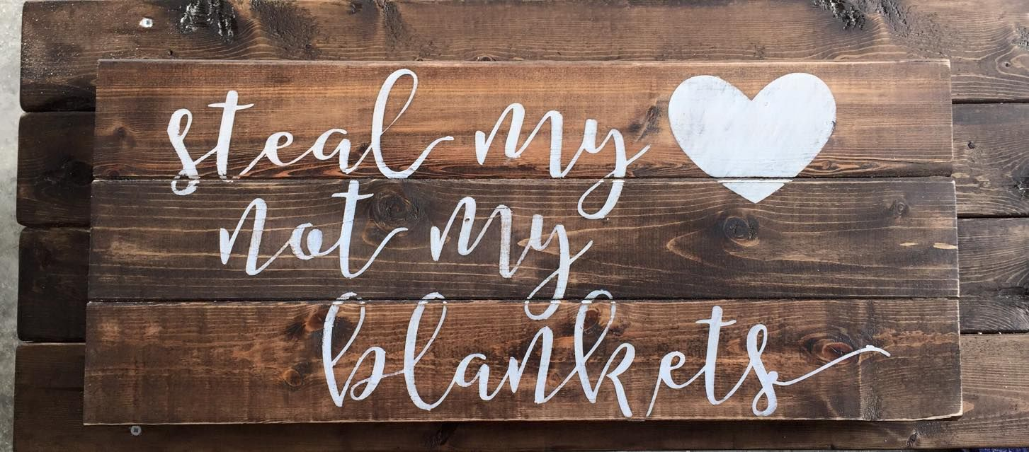 Pallet sign reclaimed wood diy pallet art rustic - Rustic country bedroom decorating ideas ...