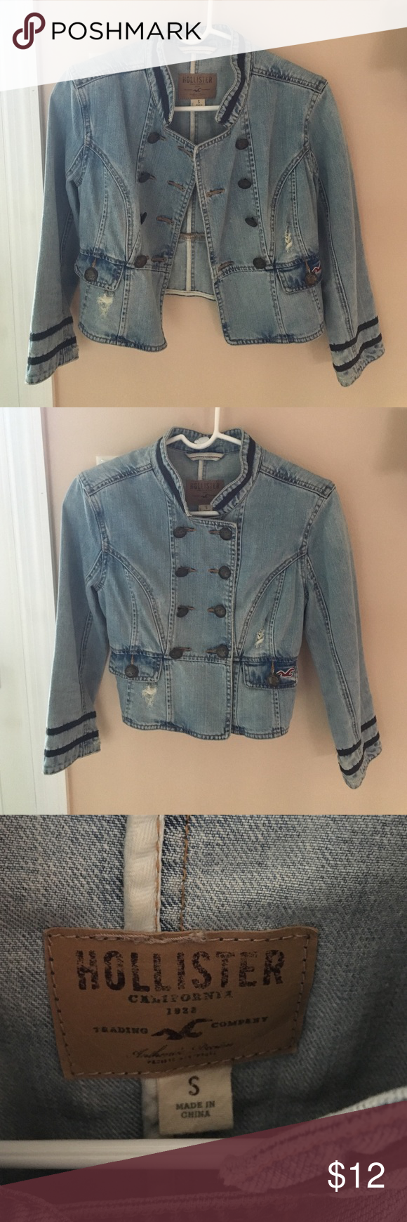 Hollister jean jacket hollister jeans hollister jackets and