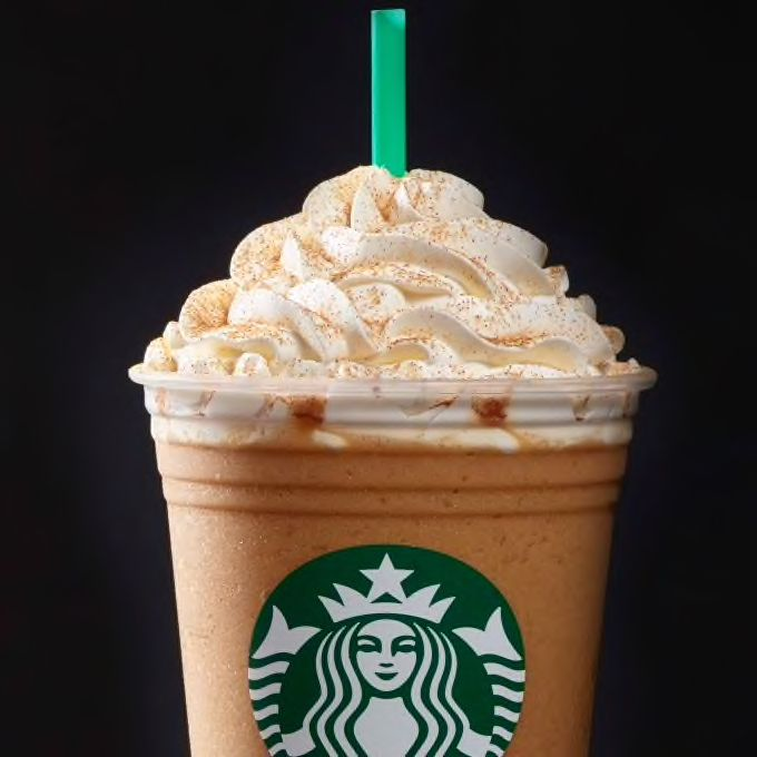 Check Out This Pumpkin Spice Frappuccino® Blended Beverage