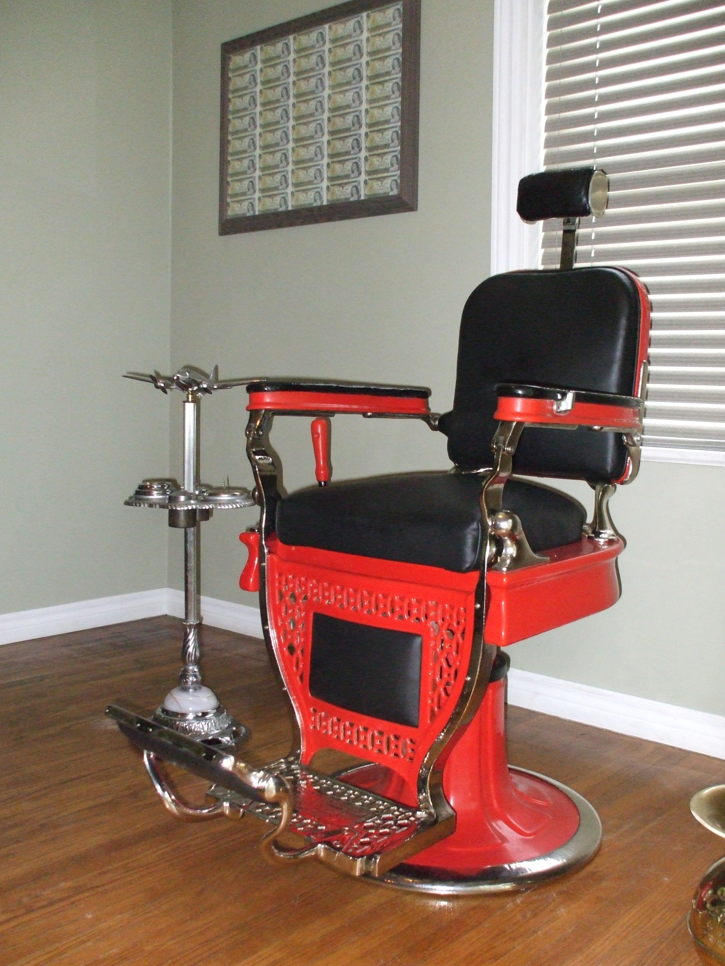 Antique barber chairs koken - Vintage Barber Chair