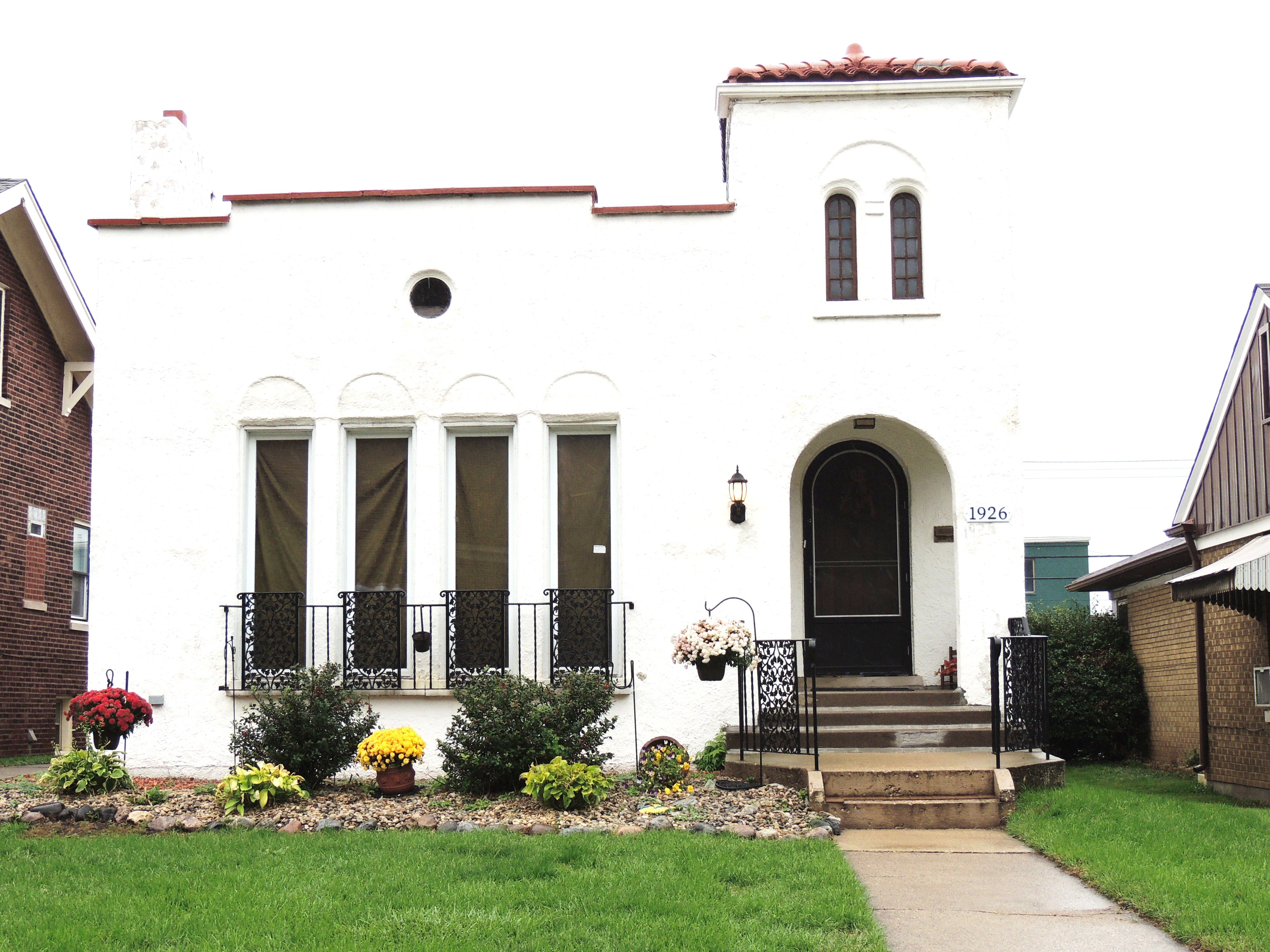 Best 1927 Mission Revival Home With Bell Tower Colonial 400 x 300