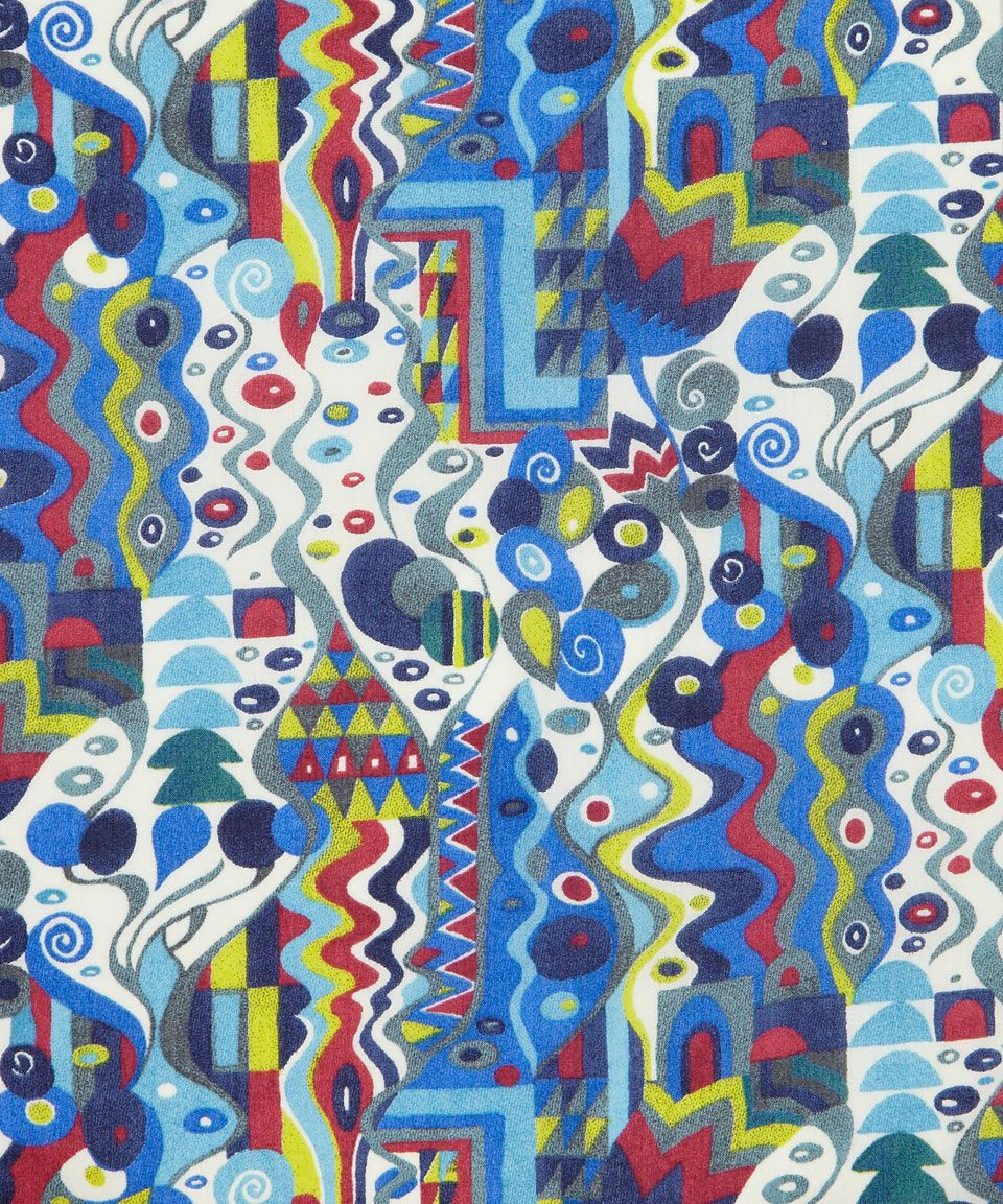 Reuben Nouveau A Tana Lawn, Liberty Art Fabrics.