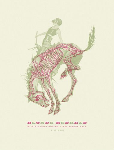 posters Blonde redhead