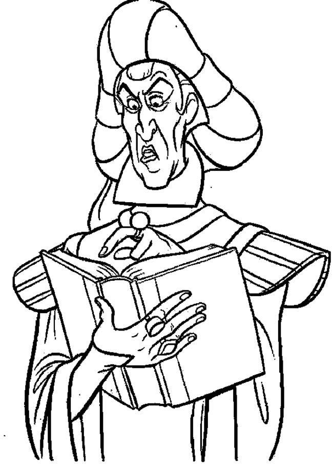 Claude Frollo Read The Book