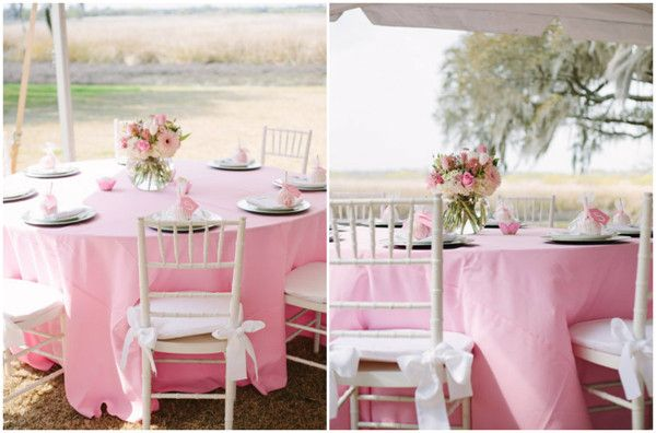 Pink Baby Shower Table Decorations Baby Shower Ideas Pink And
