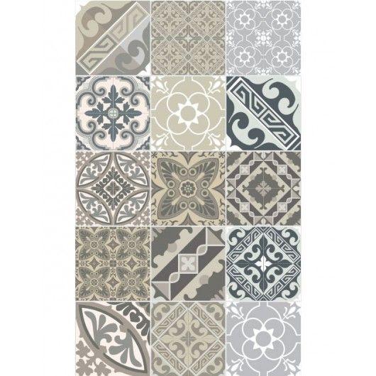tapis vinyl eclectic 70 x 120 cm beija flor rugs inspiration. Black Bedroom Furniture Sets. Home Design Ideas