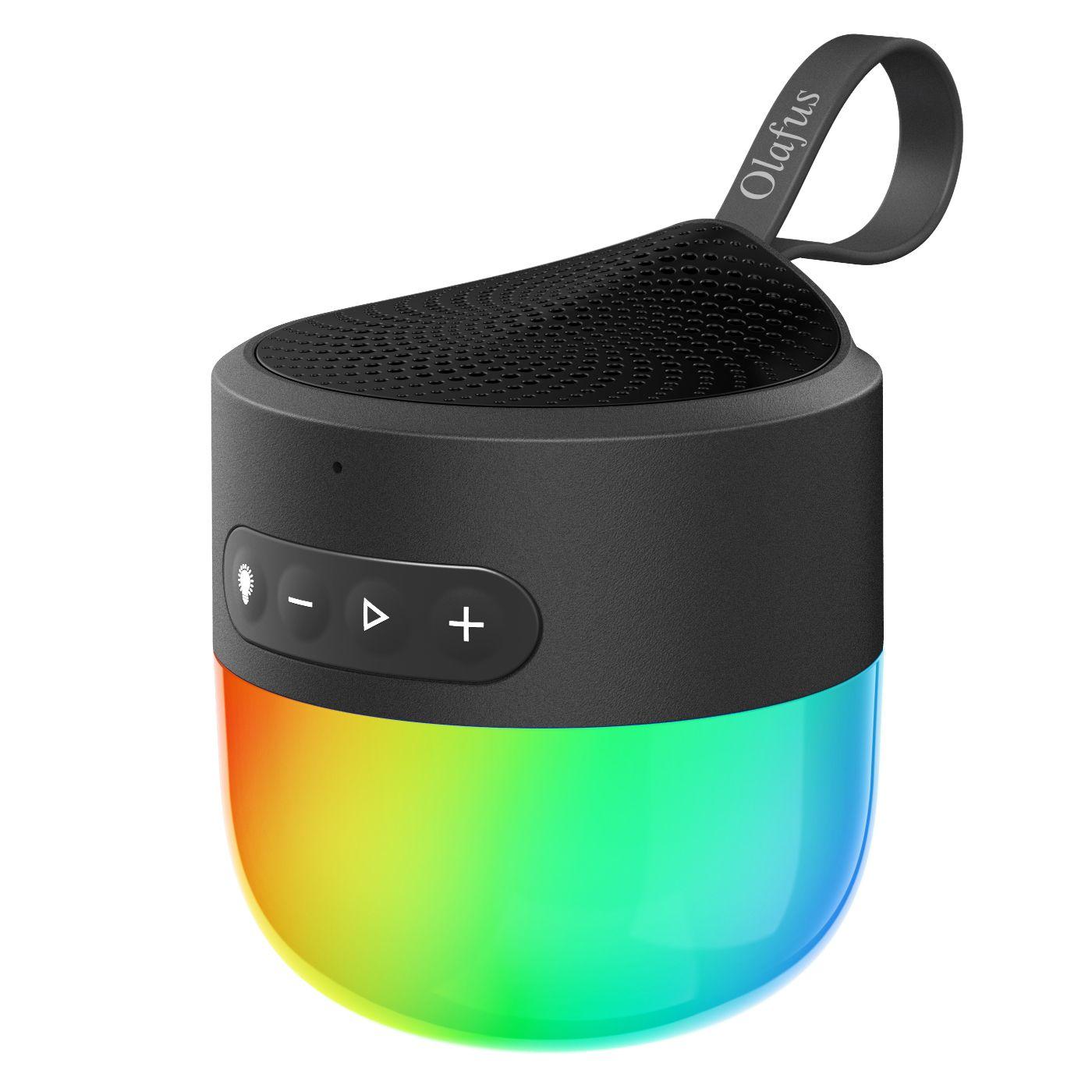 Nachtlicht Bluetooth Lautsprecher Ip65 Bluetooth 5 0 Speaker Mit Dimmbar Licht 5 Licht Modi Eu Standard