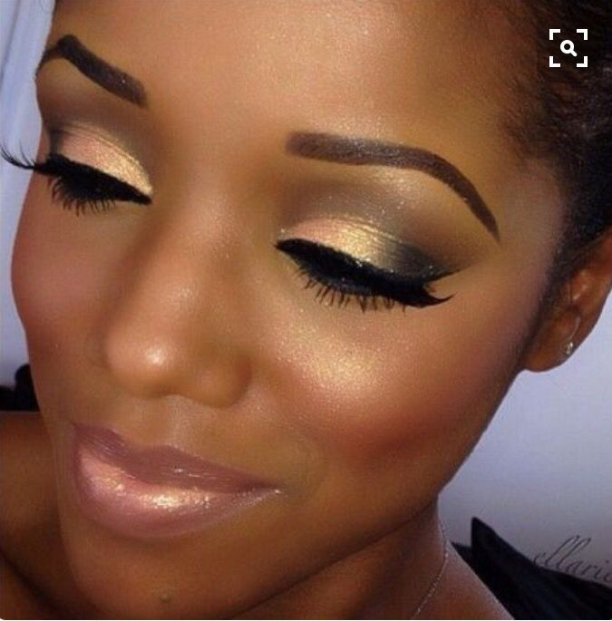 Fonkelnieuw Black Ladies Makeup Looks That Would Get You Drooling (With images RD-82