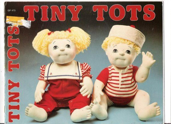 Little Darlin/' Baby Twins  Soft Sculpture Doll Patterns  Miss Martha Originals