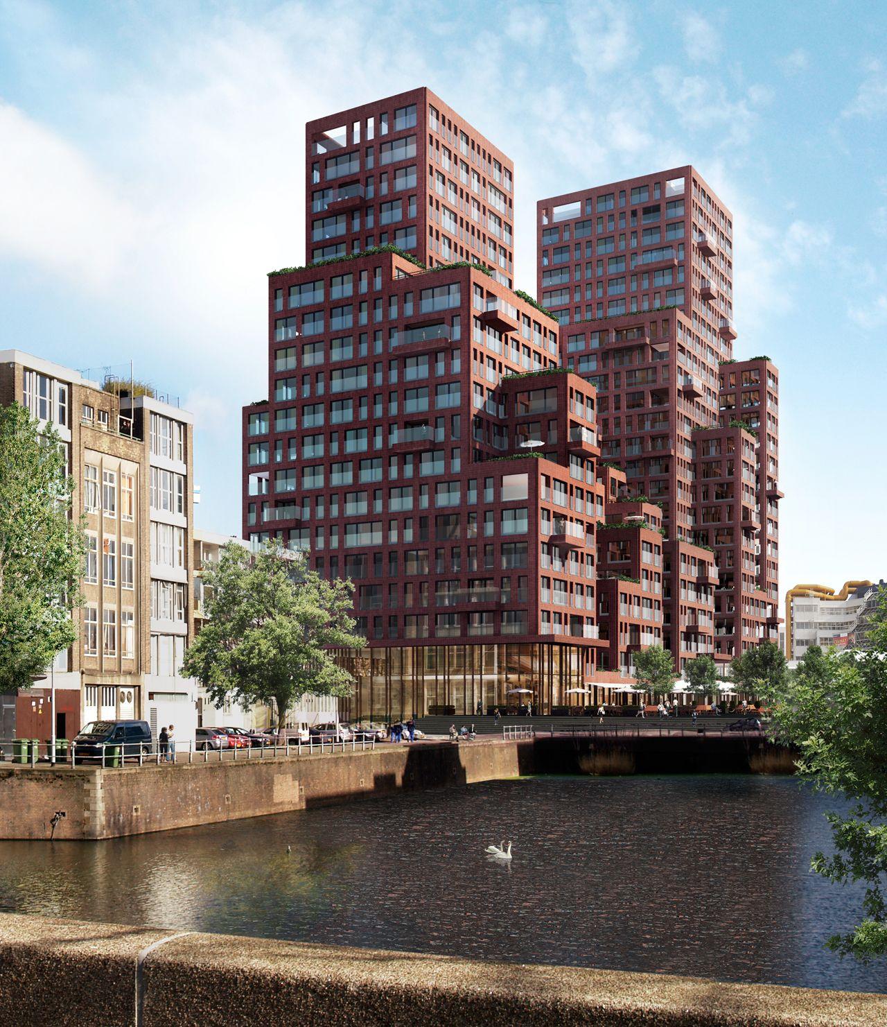 Van Dongen Koschuch Architects And Planners Rotta Nova Rotterdam Konzept Architektur Offentlicher Raum Design Fassade