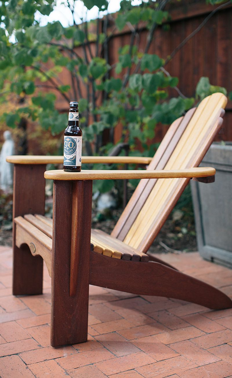 Built To Last Patio Furniture Odell Brewing Custom Handmade Fort Collins Colorado