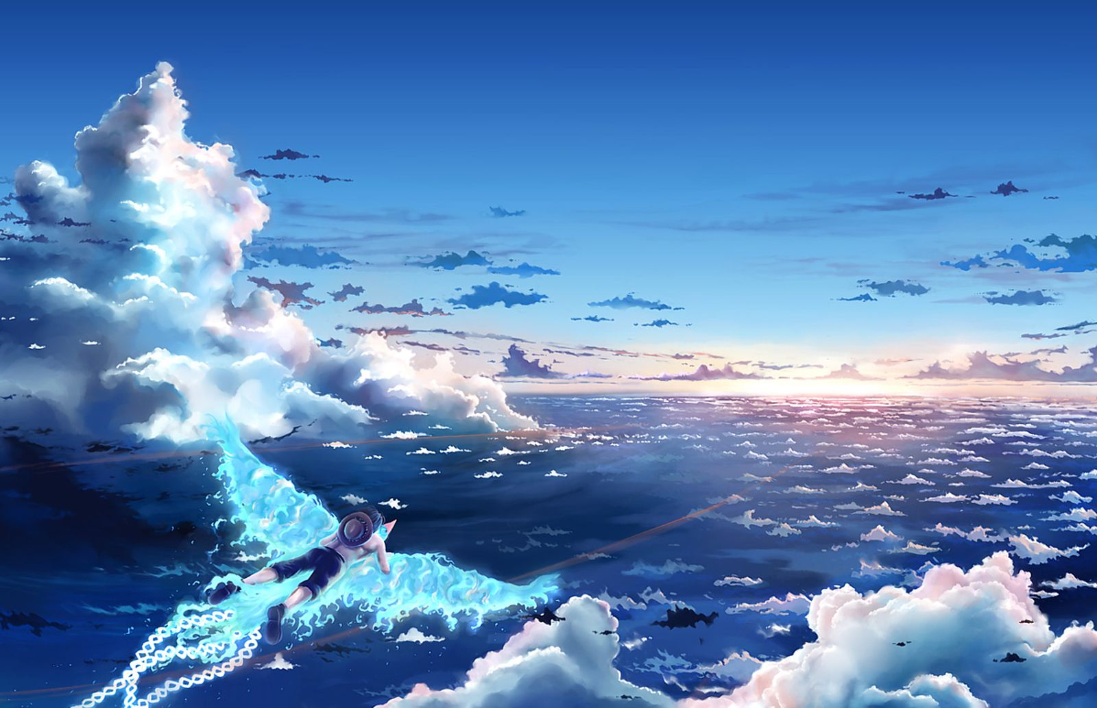 anime background scenery fly Google Search ONE PIECE