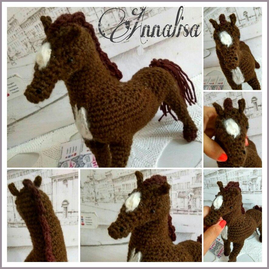 Cavallo amigurumi, horse amigurumi prossimo tutorial sul mio canale YouTube 🌼