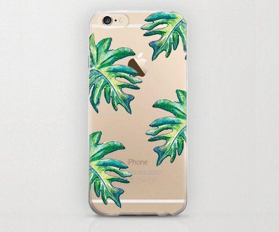 67b925d31f60 Tropical Leaves iPhone 6 Case Banana Leaf Phone Case Hard Shell ...