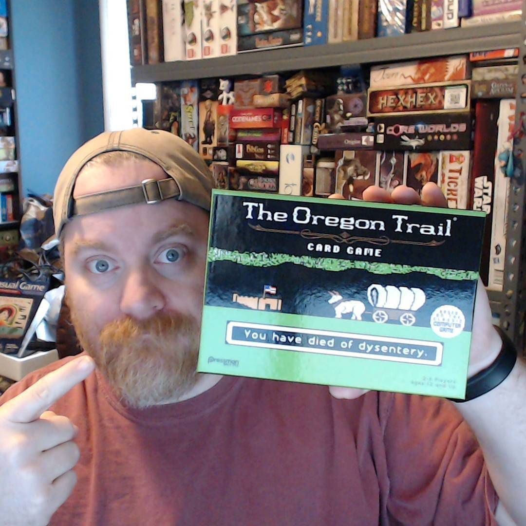 New game the oregon trail card game ive died of