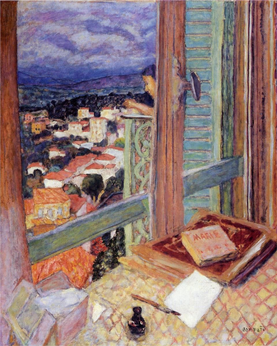 Pierre bonnard the window 1925 for Pierre bonnard la fenetre ouverte