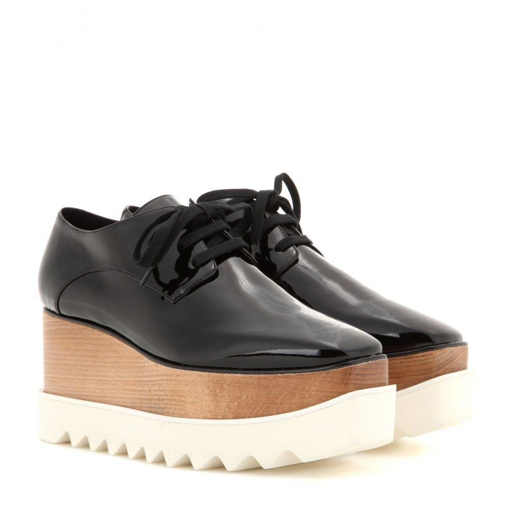 Britt Chaussures Derby De Plate-forme Métallique Stella Mccartney NRt60L
