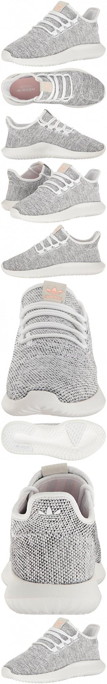 Adidas originali donne tubulare ombra w scarpa da corsa, bianco / pearl