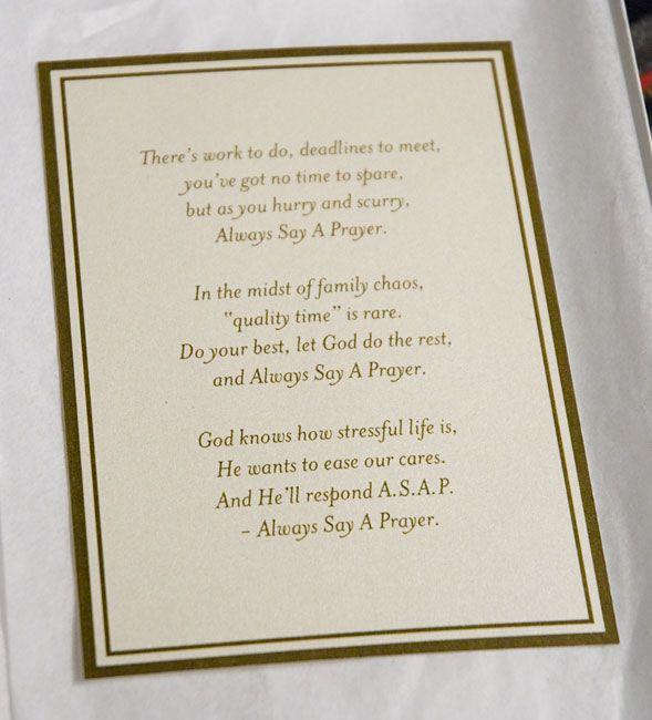 Prayer Cloth poem | Prayer | Pinterest