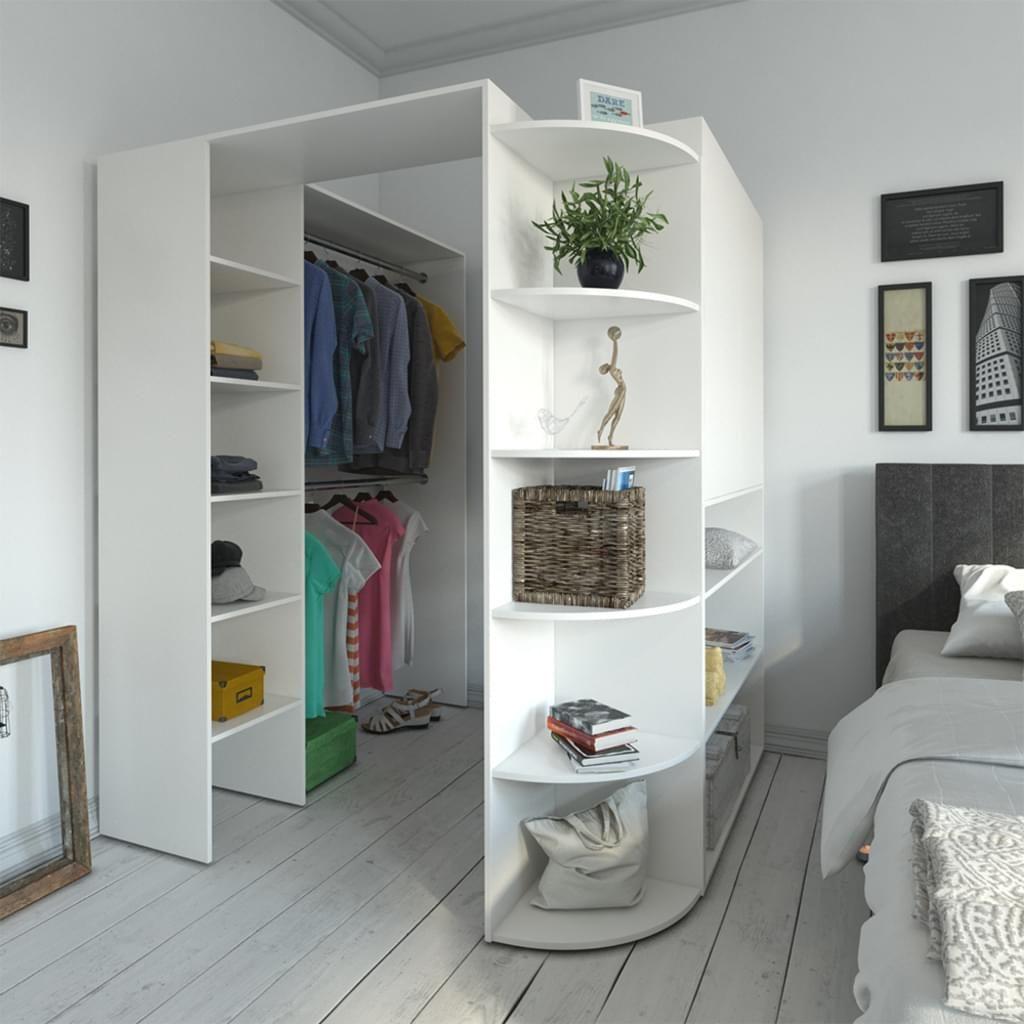 Vicco Armario Estanteria Abierta K Real Violan Mantel Redondo En Un Juego De 2 Metz Textil Design S In 2020 Clothes Rack Closet Closet Decor Bedroom Closet Design