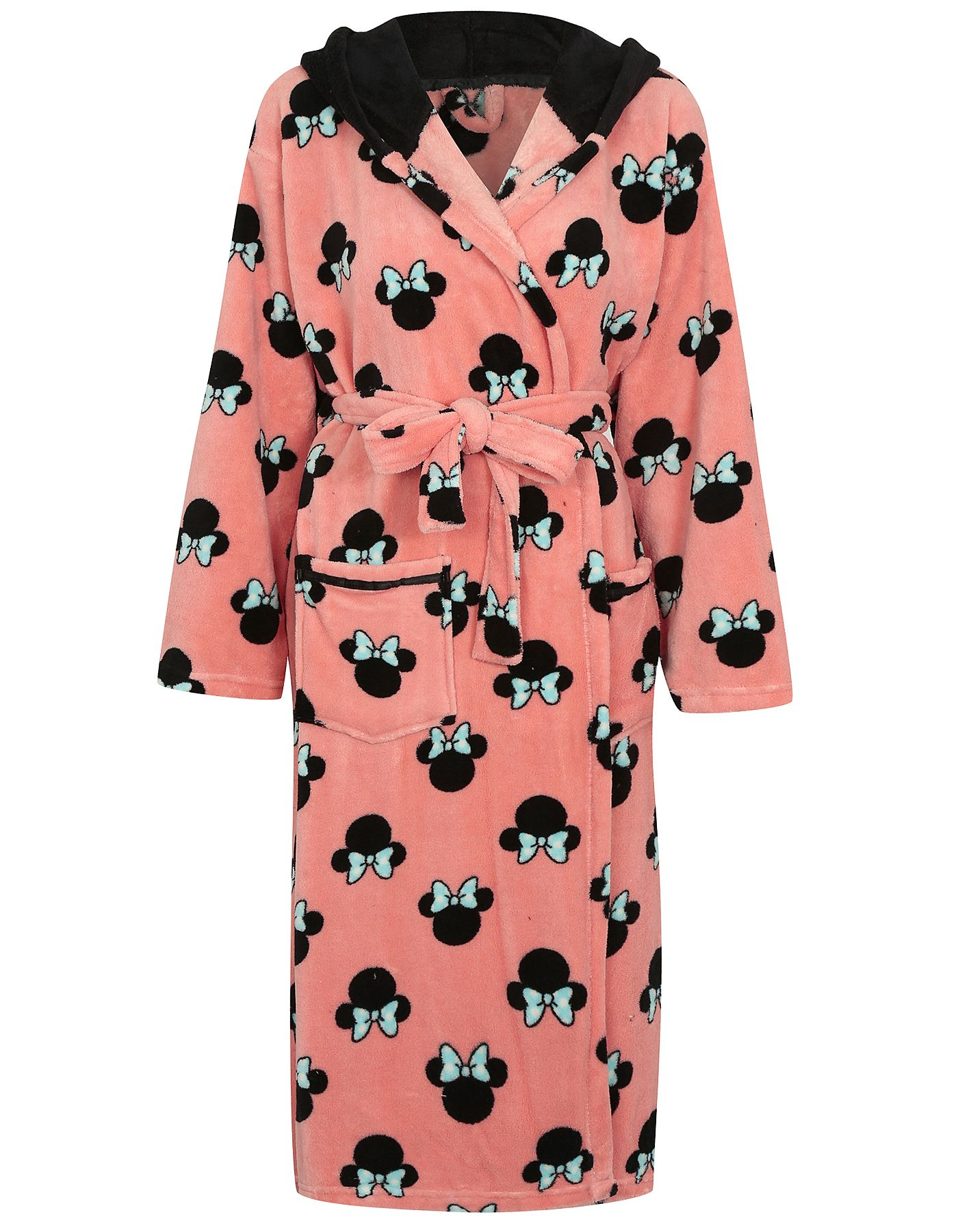 Hooded Minnie Mouse Dressing Gown | Women | George at ASDA ...