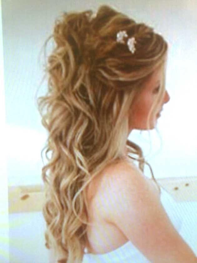 Pin von Sabine M auf hairstyles  Frisuren halboffen