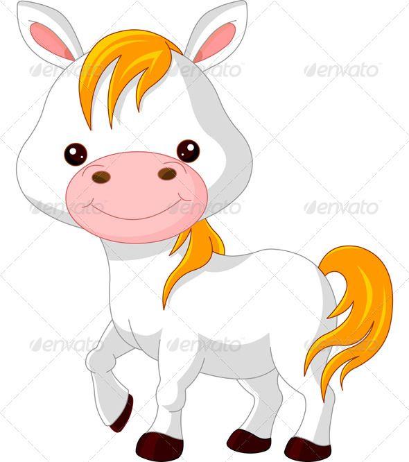 Farm Animals Horse Cute Animal Clipart Horse Cartoon Farm Animal Quilt