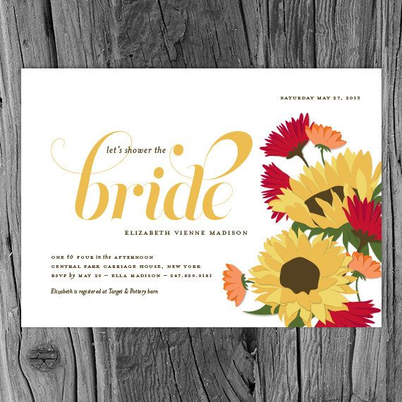 Tuscan sunflower bridal shower invitation italian flowers tuscan sunflower bridal shower invitation italian by snowandivy 4750 filmwisefo