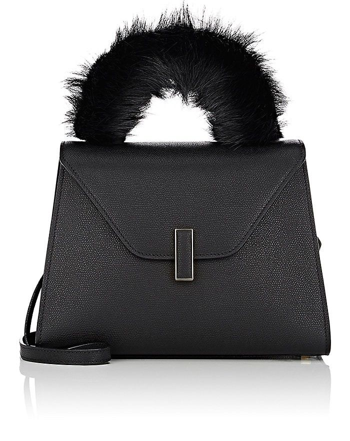 Valextra Fur Handle Cover Valextra Bags Hand Bags Fur Valextra Bags Fur